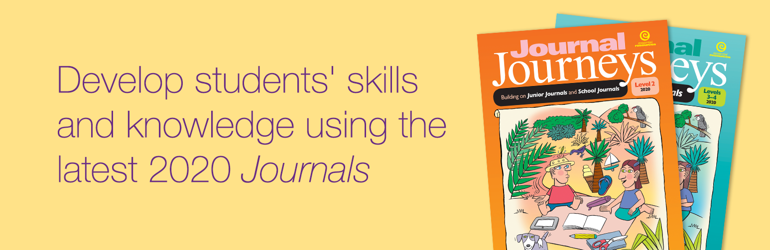 Journal Journeys – develop skills and knowledge by building on the 2020 Journals