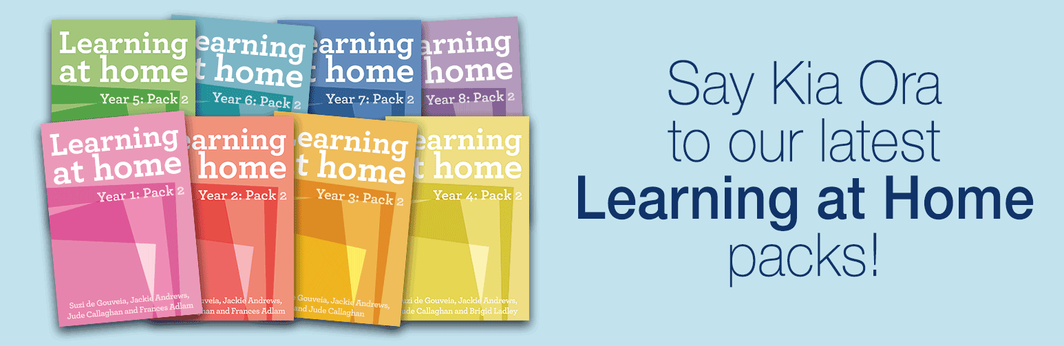 Say Hello to our Learning at Home packs
