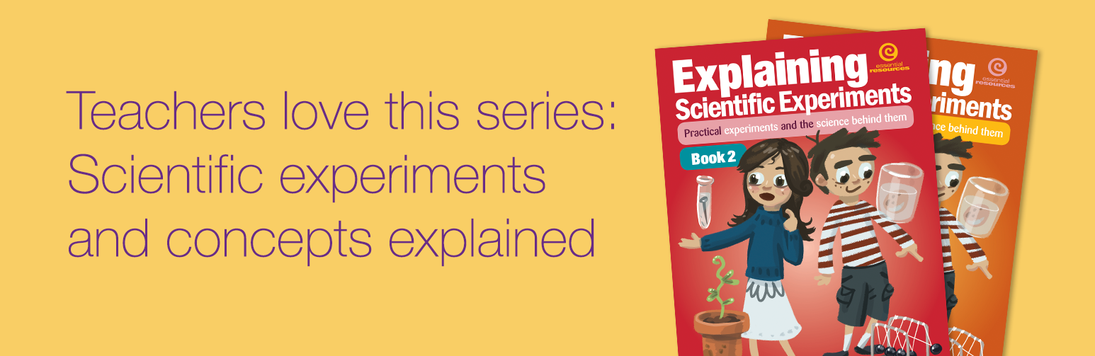 Teachers love this series: Scientific experiments and concepts explained