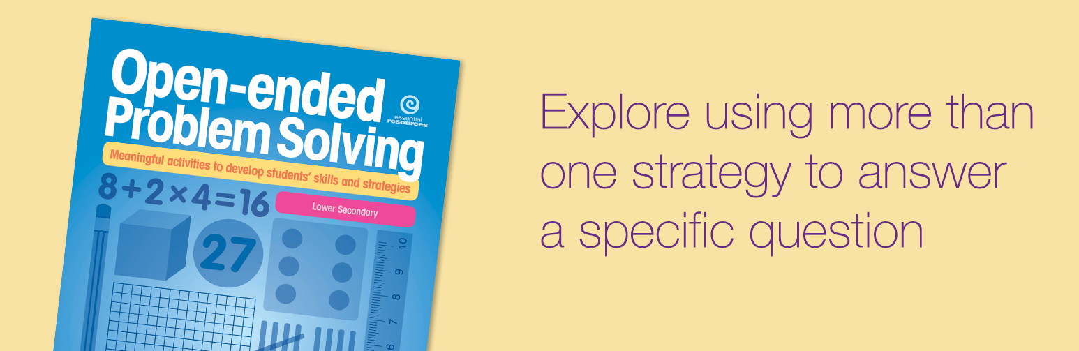 Explore using more than one strategy to answer a specific question