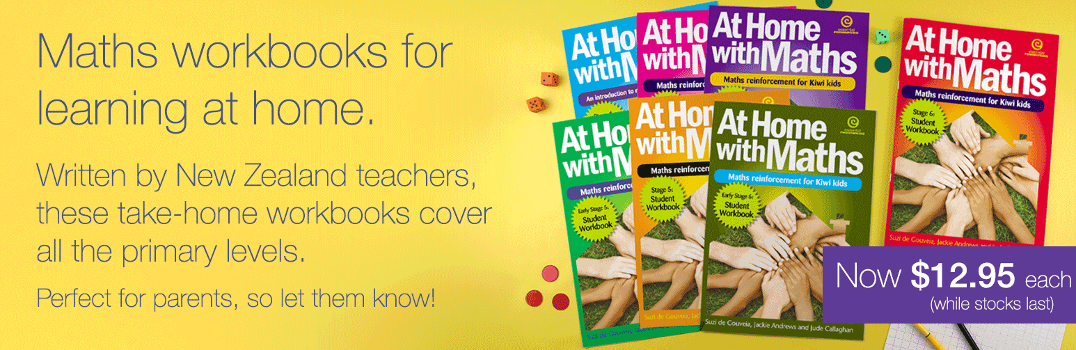 Maths workbooks for learning at home