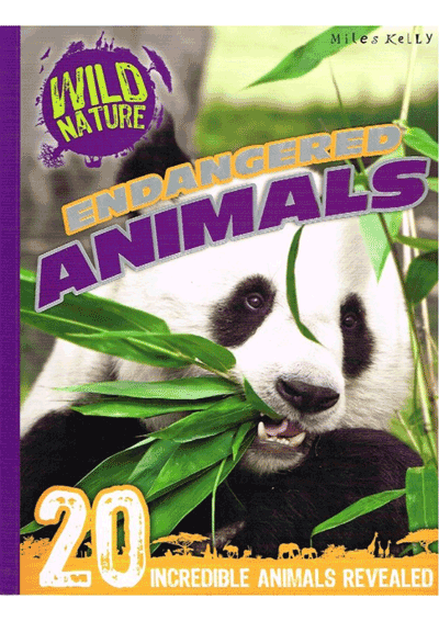 Wild Nature Endangered Animals Cover