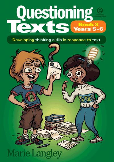 Questioning Texts Bk 3 Yrs 5-6 Cover