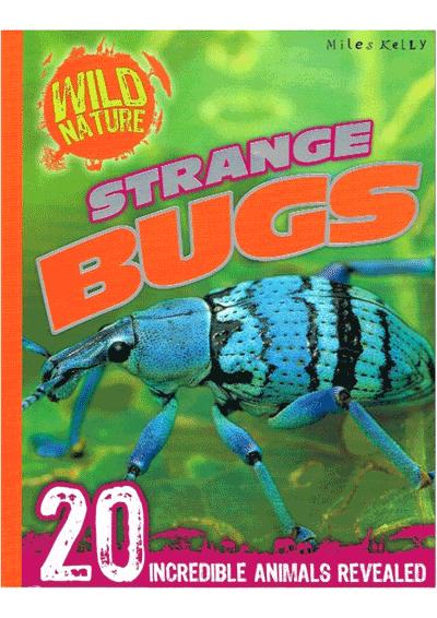 Wild Nature Strange Bugs Cover