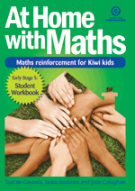 At Home with Maths - Reinforcement for Kiwi kids (E.Stg 5)
