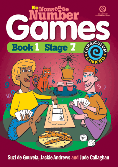 No Nonsense Number Games Bk 1: Stage 7 Cover