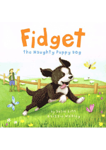 Fidget the Naughty Puppy dog