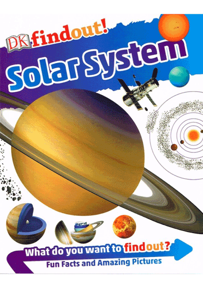 DK Findout! - Solar System Cover