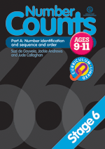 Number Counts: Number identification (Stage 6 Pt. A)