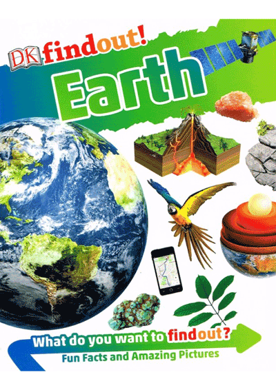 DK Findout! - Earth Cover
