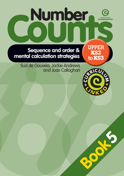 Number Counts: Sequence and order  & strategy (Upper KS2-3) Cover