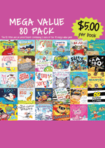 Mega Value Sale Pack - 80 Assorted picture books