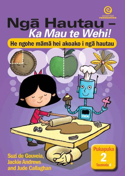 Nga Hautau – Ka Mau te Wehi! Pukapuka 2. Taumata 4 Cover