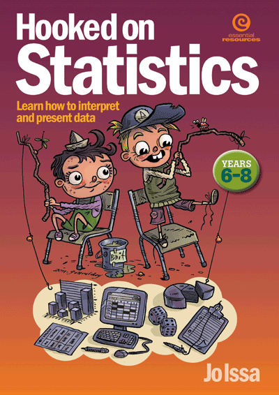 Hooked on Statistics Yrs 6-8: Interpreting & presenting data Cover
