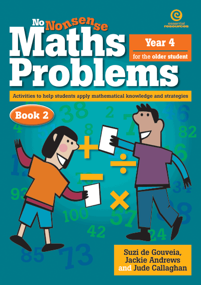 No Nonsense Maths Problems for Older Students Bk2 Cover