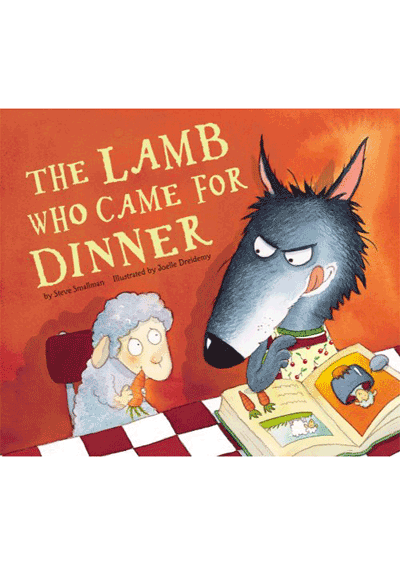 The Lamb Who Came For Dinner Cover