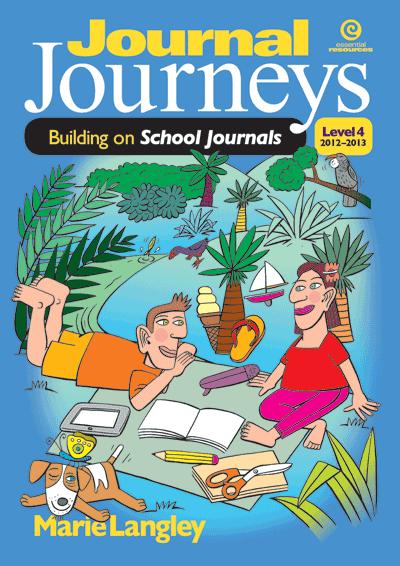 Journal Journeys, Level 4, 2012-2013 Cover