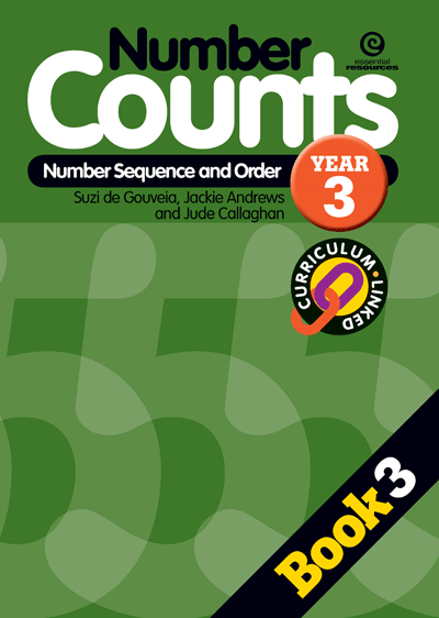 Number Counts: Sequence and order Yr 3 Cover