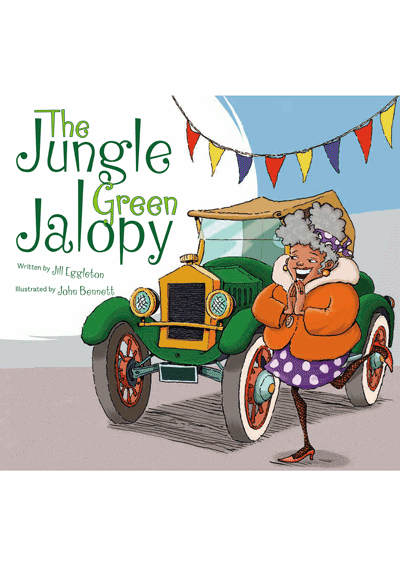 The Jungle Green Jalopy Cover