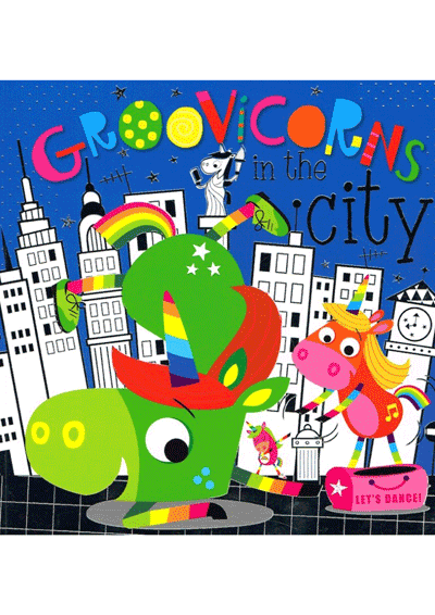 Groovicorns in the City Cover