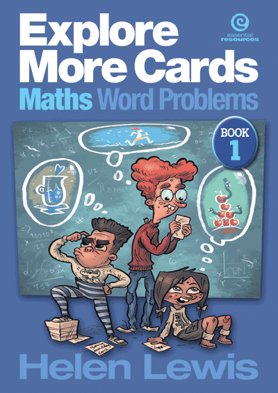 Explore More Cards - Maths Word Problems Yrs 4-5 Cover