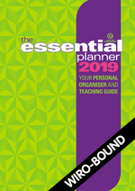 The Essential Planner 2019 Wiro-bound