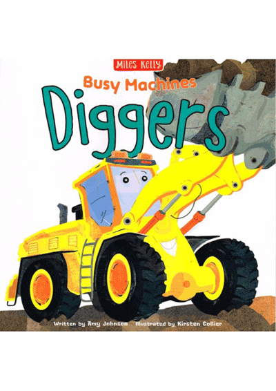 Busy Machines - Diggers Cover