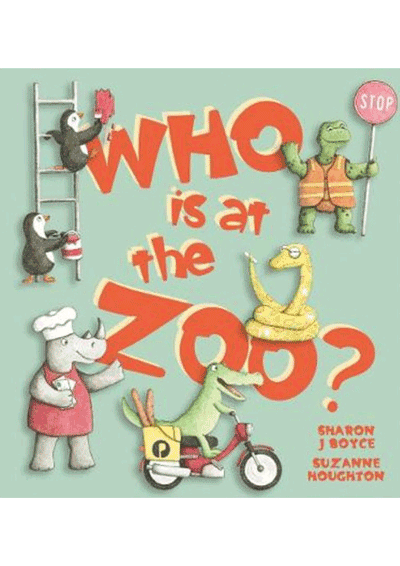 Who is at the Zoo? Cover