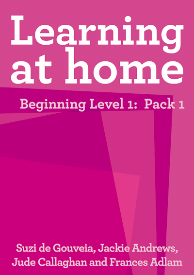 Learning at Home – Year 1: Pack 1 Cover