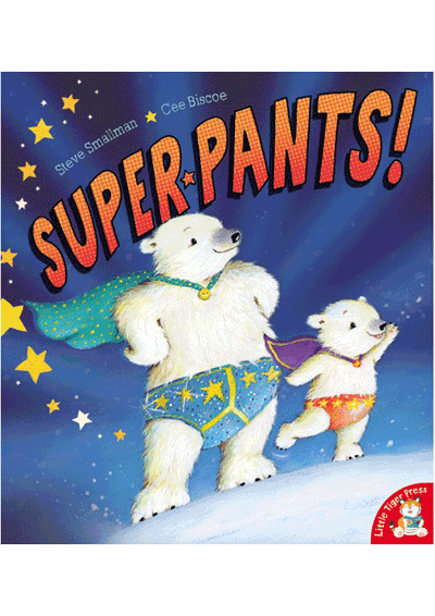 Super Pants! Cover