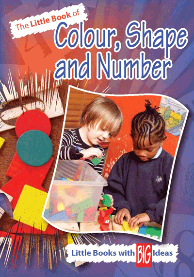 Little Book of Colour, Shape and Number Cover