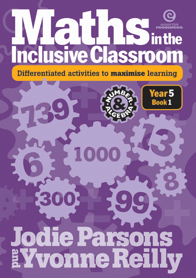 Maths in the Inclusive Classroom Yr 5 Bk 1 Cover