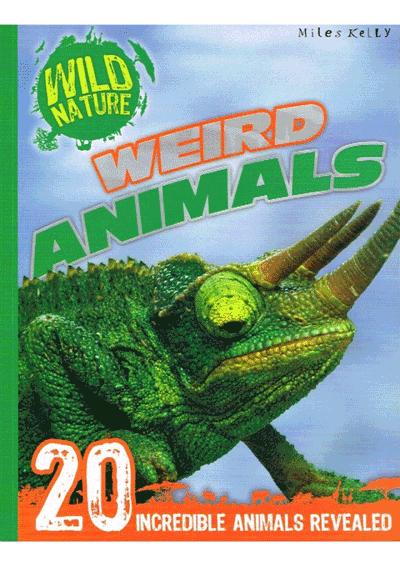 Wild Nature Weird Animals Cover