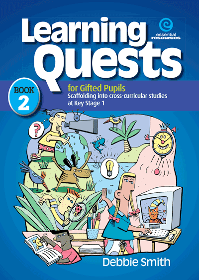 Learning Quests for Gifted Pupils Bk 2 (KS 1) Cover