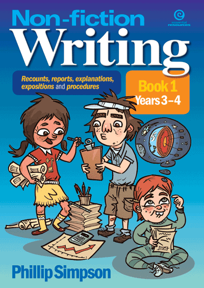 Non-fiction Writing in Yrs 3-4 Cover