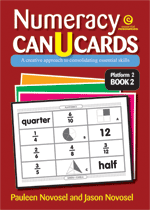 Numeracy CAN U CARDS Yrs 4-6 Platform 2 Bk 2