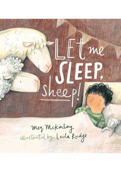 Let Me Sleep Sheep Cover