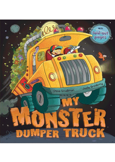 My Monster Dumper Truck Cover