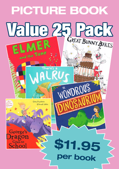 Fiction Variety Pack – 25 assorted picture books Cover