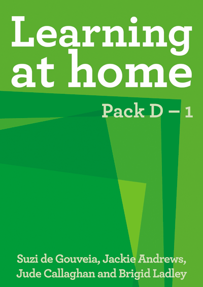 Learning at Home: Pack D – 1 Cover