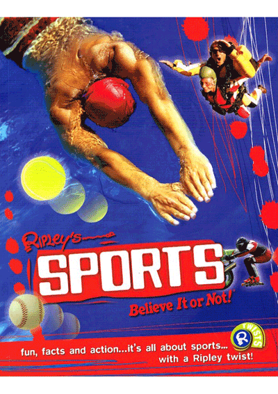 Ripley's Twists - Sports Believe It or Not! Cover