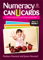 Numeracy CAN U CARDS Yrs 1-3 Platform 1 Bk 1