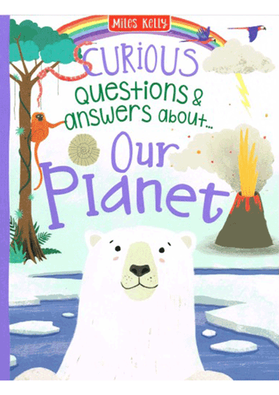 Curious Q&A - Our Planet Cover