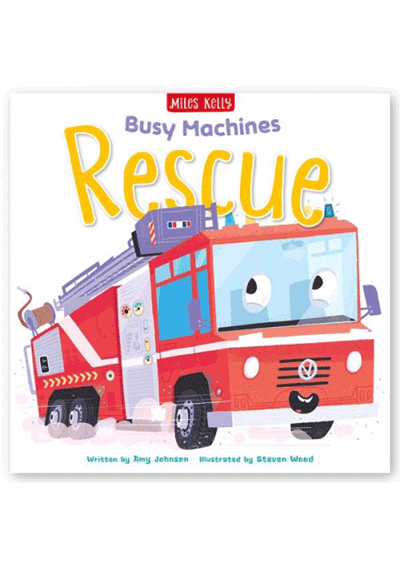 Busy Machines - Rescue Cover