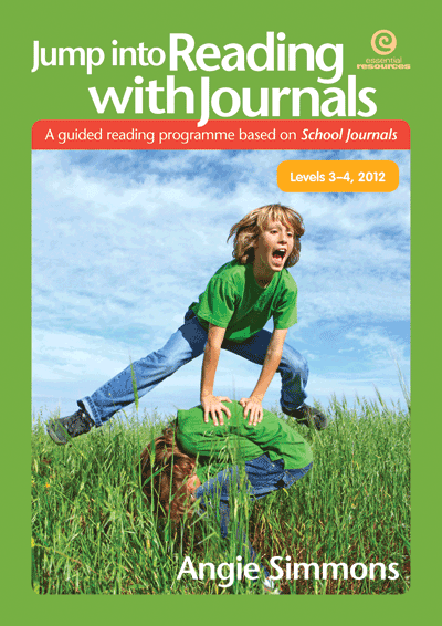 Jump into Reading with Journals (Levels 3-4), 2012 Cover