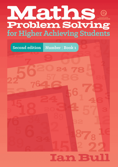 Maths Problem Solving for High Achieving Students - Revised Cover