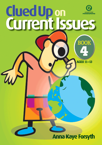 Clued Up on Current Issues Bk 4 Cover