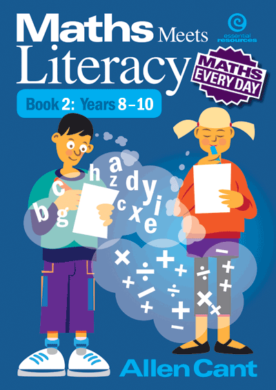 Maths Every Day: Maths Meets Literacy Bk 2 Yrs 8-10 Cover