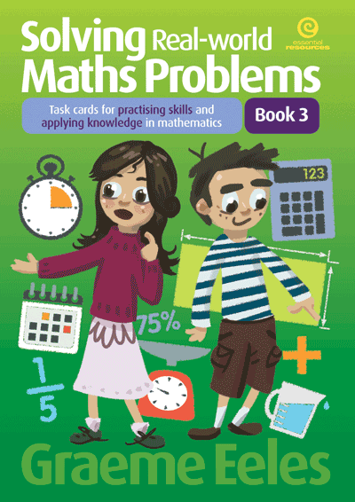 Solving Real-world Maths Problems Bk 3 Cover