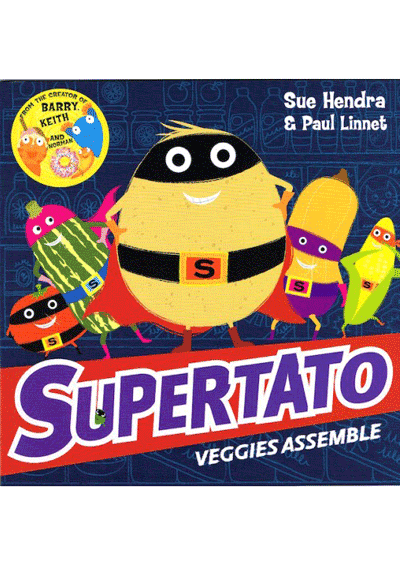 Supertato Veggie Assemble Cover
